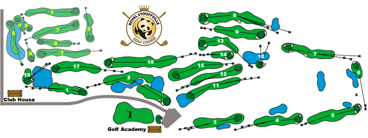 Maples of Ballantrae Course Map